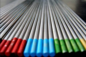Tungsten Electrode Color