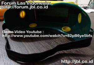 Kacamata las autodark solar cell