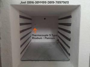 Chamber Lega, thermoucple S type Rhodium / Platinum.
