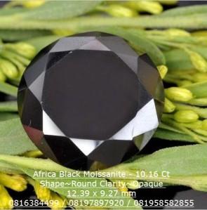 Batu permata Moissanite Diamond - 0714-11-10x 10.16 carat