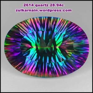 Batu Permata Quartz 2614-15-8 28.94 carat