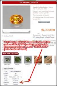 Safir Beryllium treatment
