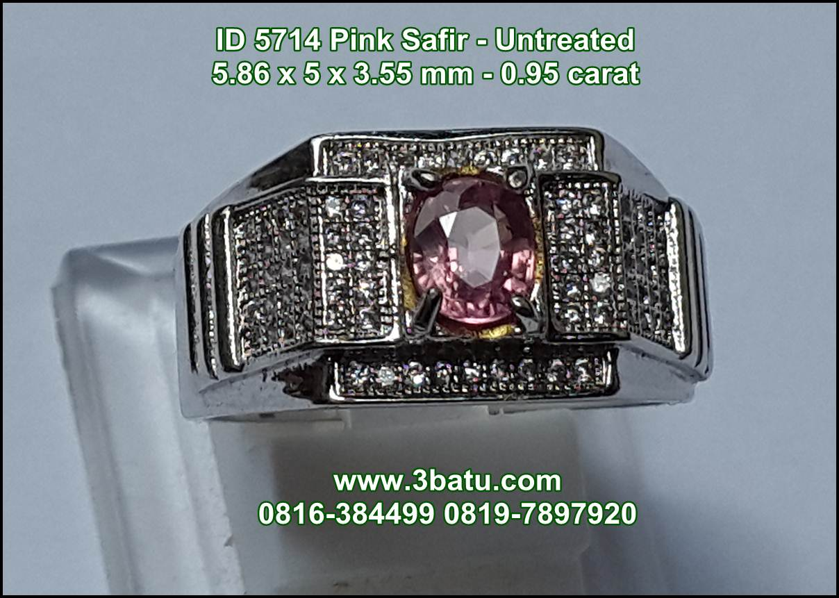 Pink Safir - ID 5714 - Untreated