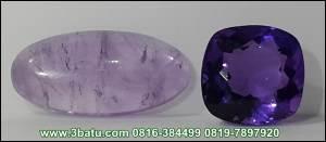 kecubung amethyst ungu