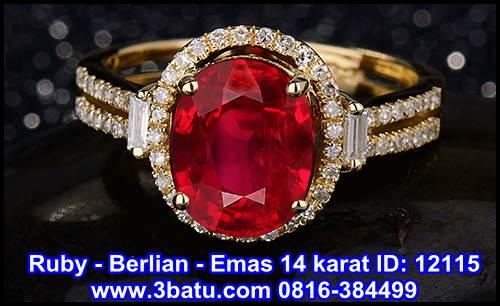 Diamond Ruby ID 12115