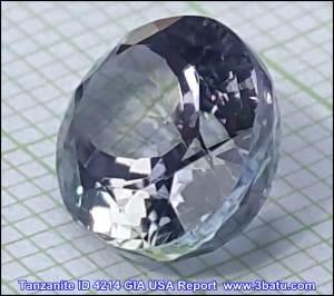 Tanzanite ID 4214 - Kualitas Permata GIA