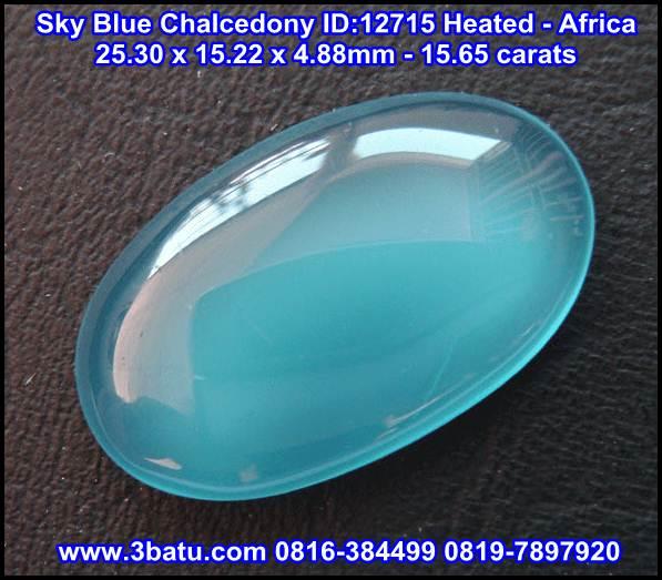 Sky Blue Chalcedony 12715