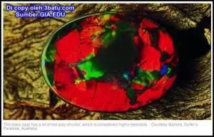 Opal Kalimaya sumber GIA