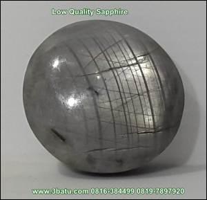 Safir kualitas rendah - opaque