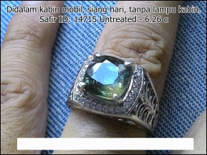 Safir Yellow Green ID: 14715 - 6.26c Untreated