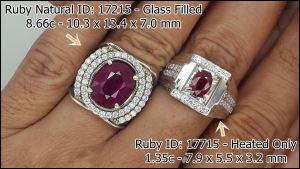Ruby 17715 vs 17215