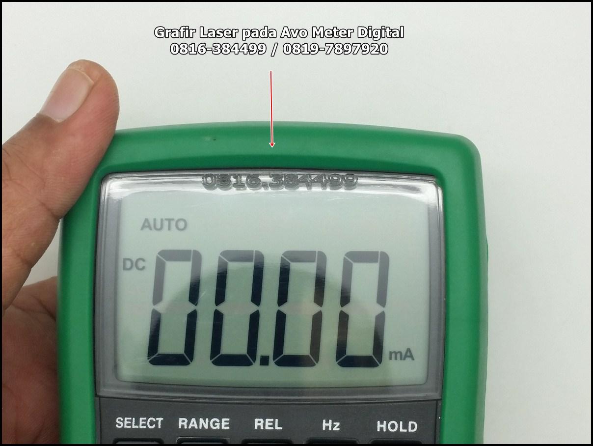 Avo Meter Digital dengan CNC Laser