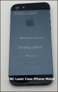 Penandaan Case iphone 5 dengan Laser CNC