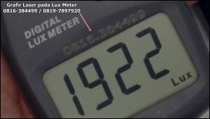 Penandaan Lux Meter dengan CNC Laser