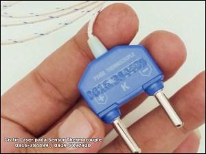Penandaan Thermocouple Sensor dengan Laser CNC
