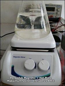 Hot Plate plus Magnetic Stirrer Max 5 liter