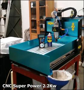 CNC Router 2.2KW 4 axis XYZA