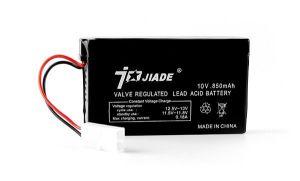 battery jiade 10v 850mA
