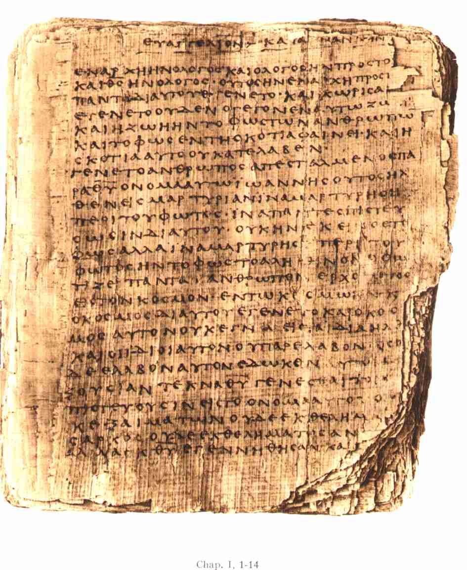 Injil Bible tertua dari tangan isa yesus