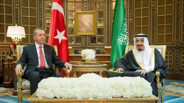 Erdogan dan Raja Salman