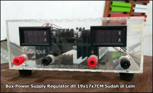 Box Regulator 19x17x7CM Akrilik