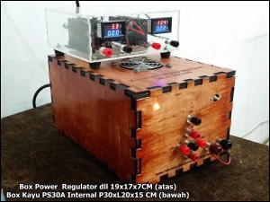 Box kotak 19x17x7 CM plus PS30 P30xL20x15 cm