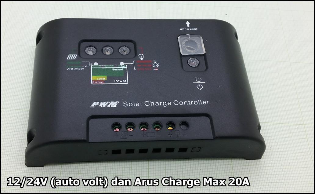Solar Controller 20A Murni