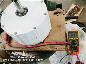 Wipo 500W PMA Generator