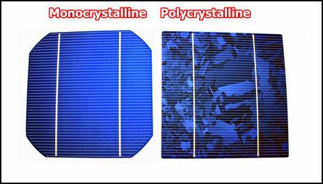 Monocrystalline Polycrystalline SOlar Cell