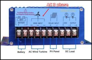 wind-solar-controller AC 3 phase