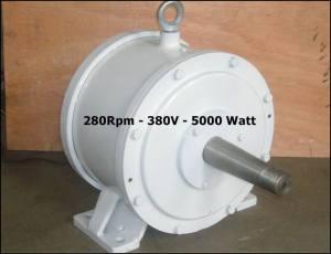 5000w - 380V - Permanent Magnet Generator