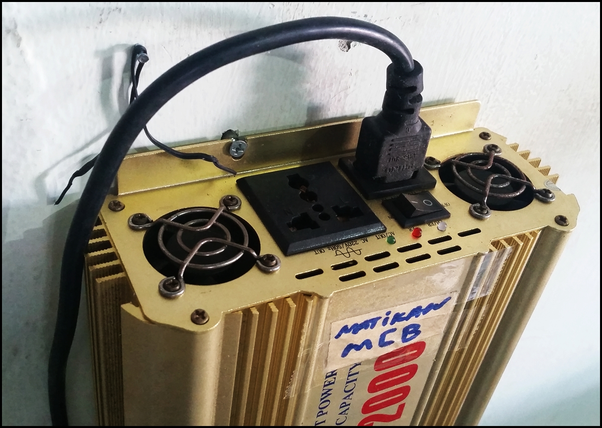 Inverter 2000W plus Charge
