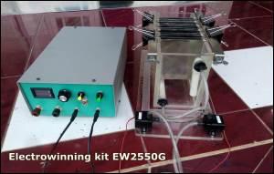 Elektrolisa Electrowinning emas