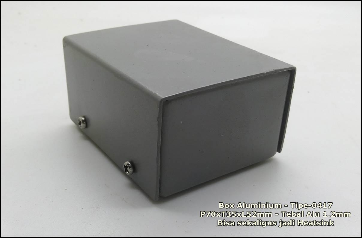 box case aluminium tipe 0417