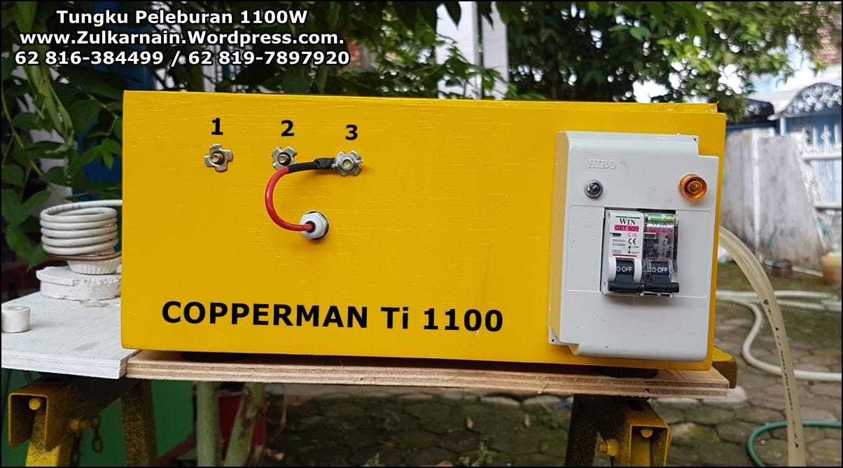 Tungku Peleburan 1100W
