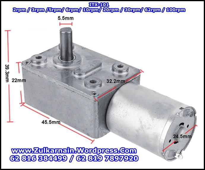 ITX-101 Low Rpm DC Motor